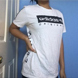 Adidas shirt w original logo 3 stripes japanese